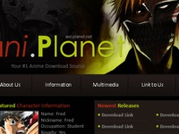 Anime Template on Wordpress 2009
