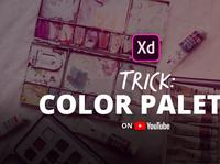 Adobe XD Color Palette Trick