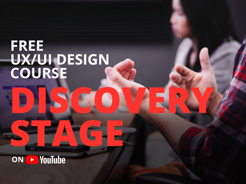 Discovery Stage | UX Course web website course discovery ux design user interface ui user experience ux