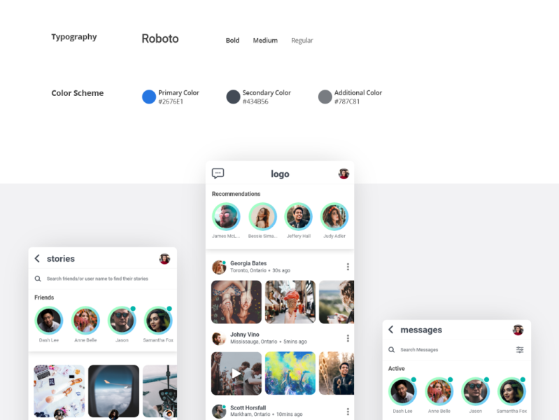 Free Ui Kit Made With Adobe Xd By Fahim Md On Dribbble
