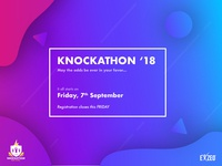 Gradient Hackathon Flyer