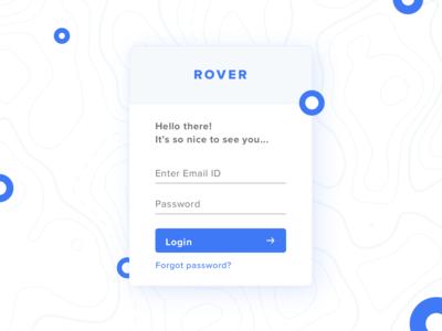 Rover Login