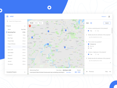 Material Design Dashboard UI