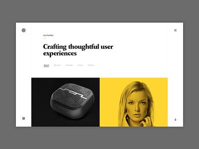 Enfolio Portfolio - (WIP) showcase clapat website psd portfolio minimal clean agency