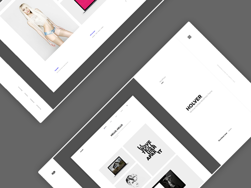 ClaPat Portfolio - WIP showcase clapat website theme portfolio minimal clean agency