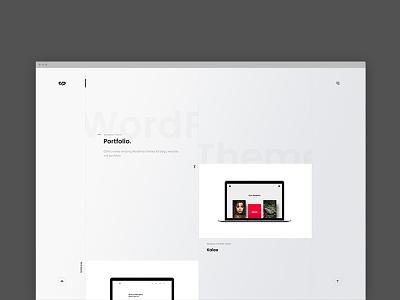ClaPat Portfolio Website gallery wordpress themes portfolio agency