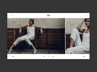 Photography Slider Carousel - Andra Theme minimal gallery wordpress themes portfolio photography