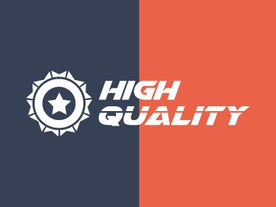 High Quality Logo logo business logo energy gear high quality logo logo template modern power quality speed star star logo