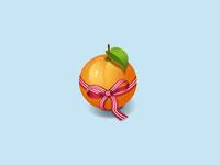 Orange imitation