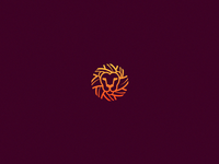Lion nickolov nickola branding symbol mark logo gradient lion