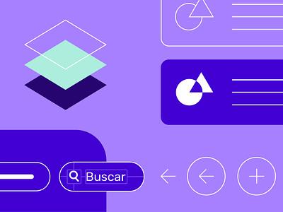Construcción de interfaz / Estandarizar atomic design material design branding app website sketch illustration visual design ux ui