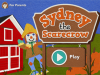 Sydney The Scarecrow Title Screen