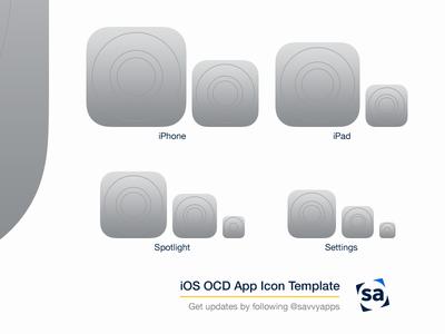 iOS OCD App Icon Template V2