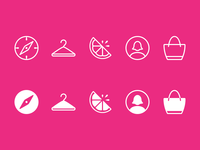 Lilly Pulitzer Tab Bar Icons