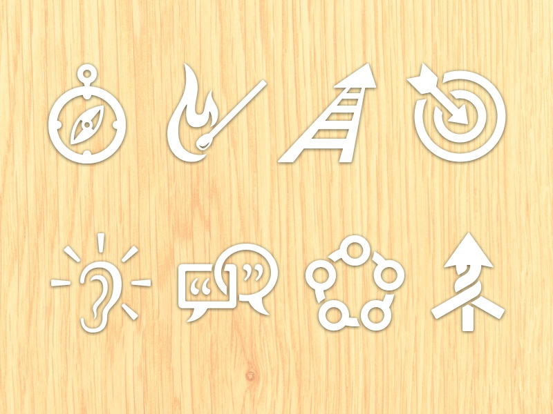 Quick Start Icons sagetopia icons illustration