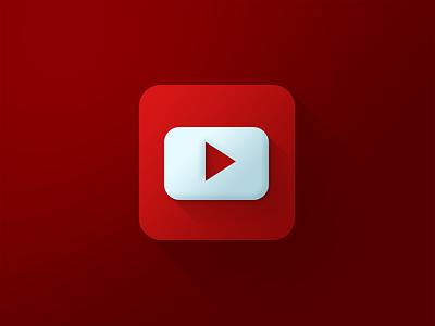 Youtube Icon youtube icon red flat gradient mix xalion