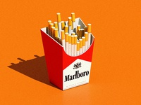 Cigarette Pack - Daily 3d