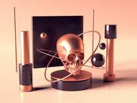 Skull Setup - Daily 3D