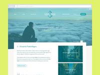 Clean webdesign interface