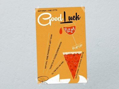 Good Luck Pizza Pop Up