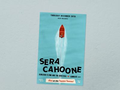 Sera Cahoone Poster