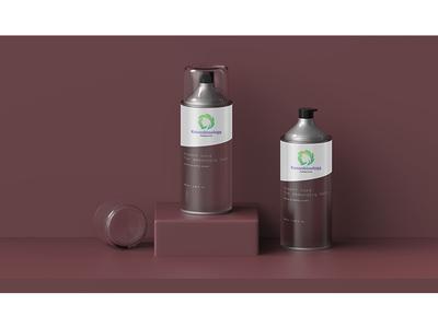 Hair spray packaging