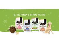 dog food web banner