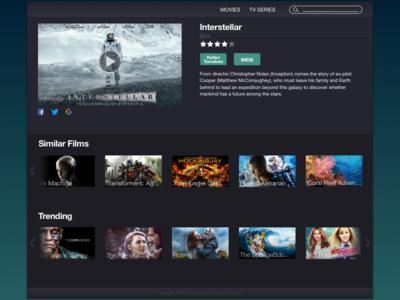 Streaming Media UI