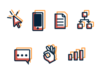 Cyber Attack Icons