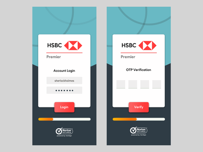 HSBC Premier Mobile App design sketch onboarding materialdesign ui ux mobile android ios behance