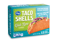 Kroger Flavored Taco Shells