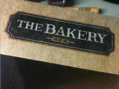 The Bakery bread cake kraft box corrugate
