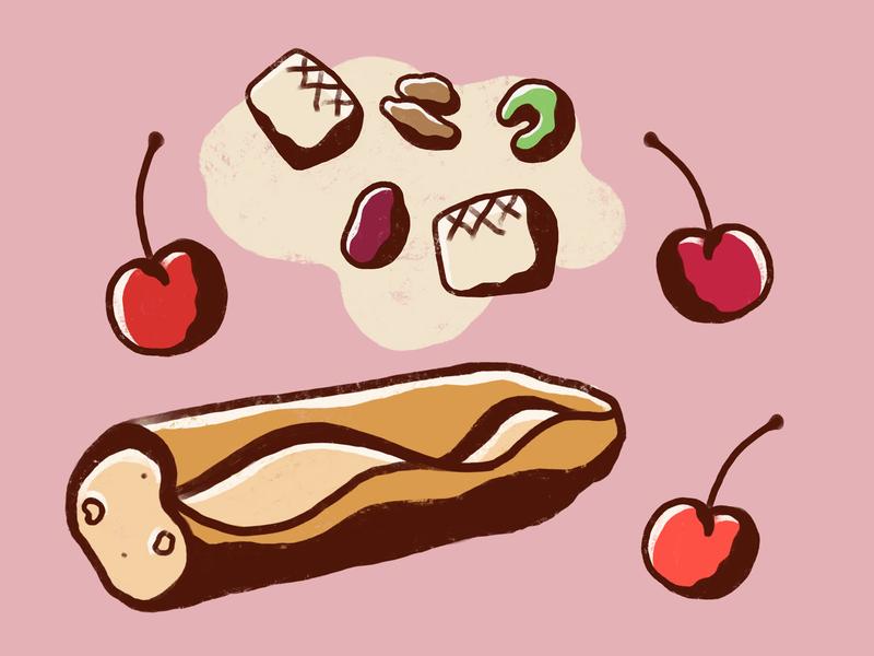 Food Journal Day 24 procreate procreateapp dinner vector cartoon design doodle illustrator illustration food
