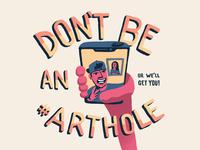 #Arthole
