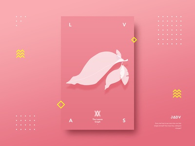 Leaves ui poster