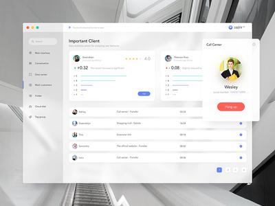 Customer Service Platform - 4 clean ui web