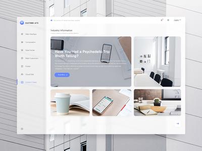 Customer Service Platform - 2 clean ui web