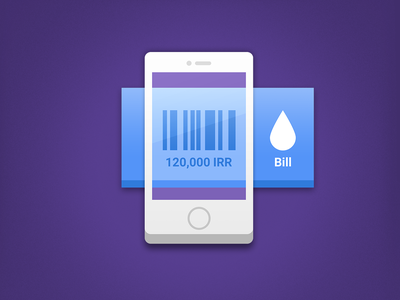 Bill Icon app dashboard mobile bill icon