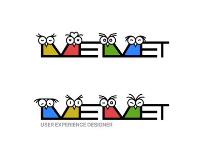 The Owls and MEMET vector owl memet typography logo illustration