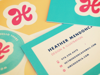 New Business Cards! moo business cards design logo