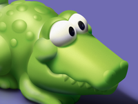 Rubber Crocodile