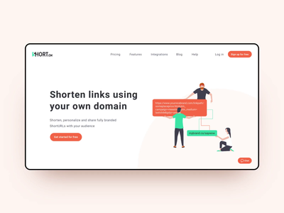 Web project for Short.cm.
