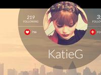 Bebo Profile Page