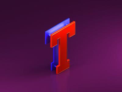 """Isometric """"T"""""""