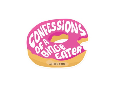 Logo for a blog about binge eating and self-derision