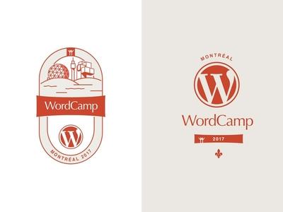 Potential logo for the Montreal WordCamp 2017 habitat 67 biosphere vote logo wordpress wordcamp montreal