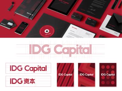 VI design for IDG Capital
