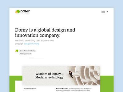 Website for a Design Studio