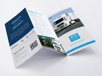 Brochure design for Allied Transport Company
