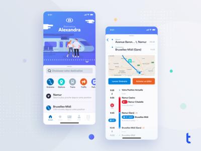 Train App Concept